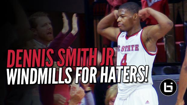 Dennis Smith Responds to Hecklers at Home with Monster Windmill in OT!