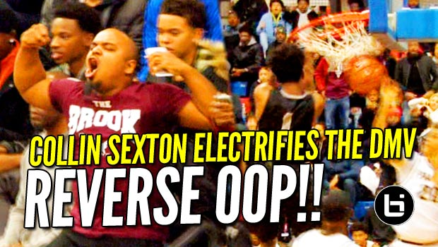 Collin Sexton Racks Up 29 & Flushes Reverse Oop to Ignite the DMV! Raw Highlights!