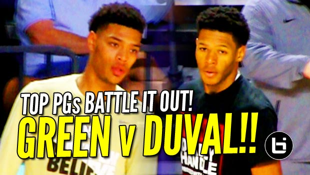 Trevon Duval v Quade Green! Top PGs & Former Teammates Battle it Out! Game Highlights!