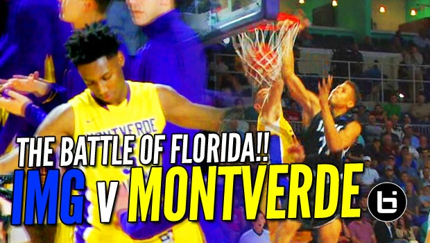 RJ Barrett Drops 30 as Montverde Defeats IMG Academy at City of Palms!! Full Highlights!
