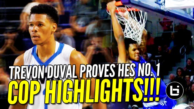 Trevon Duval Proves He's the No. 1 Point Guard in 2017! City of Palms Highlights!