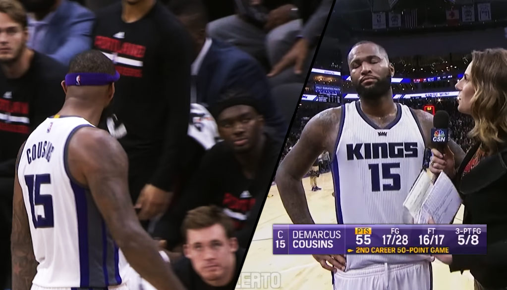 DeMarcus Cousins Furious After Scoring 55, Getting Ejected & Then Unejected