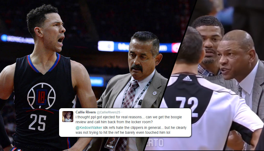Callie Rivers Reacts To Brother Austin & Dad Doc Rivers Getting Ejected For BS
