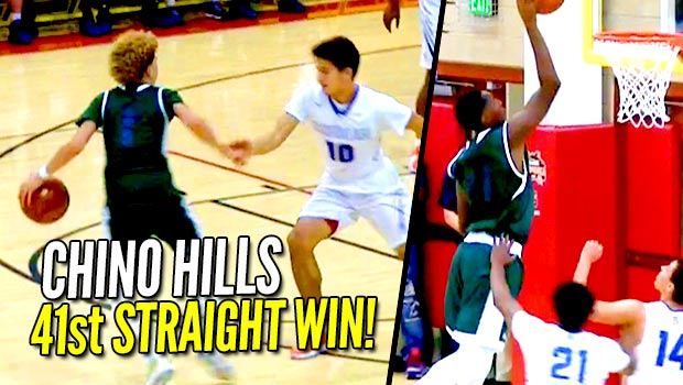 Chino Hills Wins 41st Straight Game! How Long Will The Streak Last?