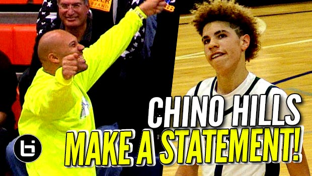 Chino Hills Makes a STATEMENT In Win vs Bishop O'Dowd! FULL Highlights!