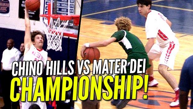 #10 Chino Hills WINS Tarkanian Classic Title vs Mater Dei! FULL Highlights!