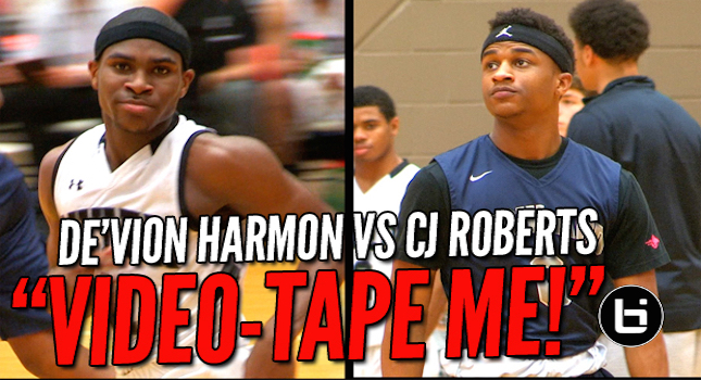 """Video-Tape Me!!"" De'Vion Harmon vs CJ Roberts at 59th Annual Whataburger Tourney!"