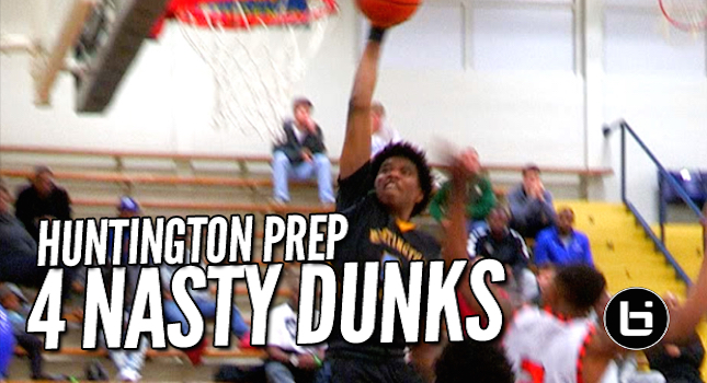 Huntington Preps Comes To Texas And Dunks Everything! Poster + Sick Windmill!