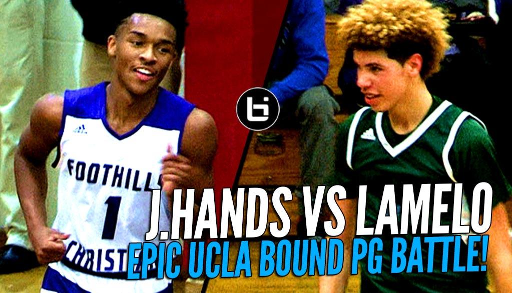 LaMelo Ball Pulls Up From NBA Range in Duel vs Jaylen Hands