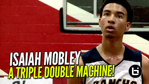 Isaiah Mobley Is a Triple Double Machine! 2019 Point Forward Battlezone Highlights!