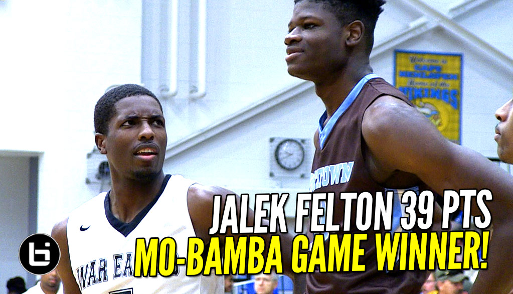 Jalek Felton 39 pts vs Mo Bamba Game Winner! Most EXCITING Game of The Season!