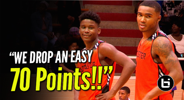 Mike Miles & TJ Starks Go Off for 70Pts! Lancaster Guards Couldn't Miss!