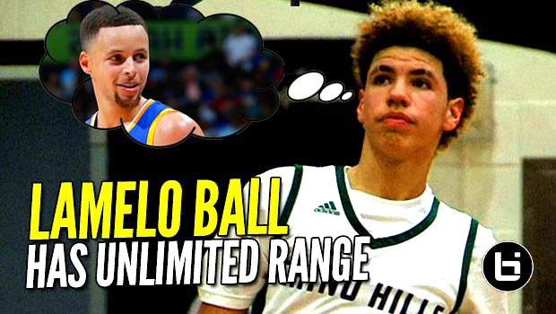 LaMelo Ball & His Steph Curry Range Average 30 PPG at The Battlezone! Crazy Mixtape!