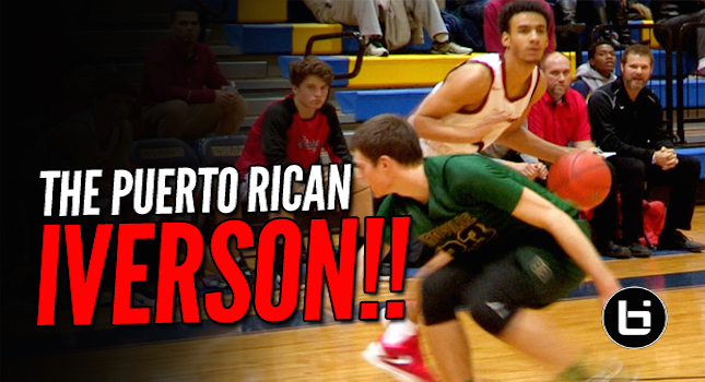 THE PUERTO RICAN IVERSON! Jhivvan Jackson Scores Whenever He Wants To!