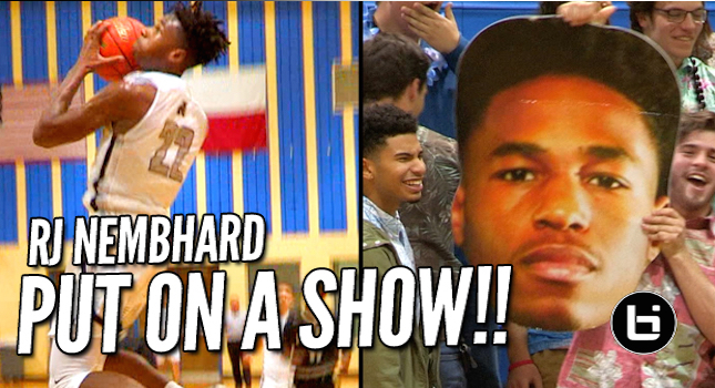 TCU Bound RJ Nembhard is Averaging 28 PPG! 3 Game Tourney Highlights!