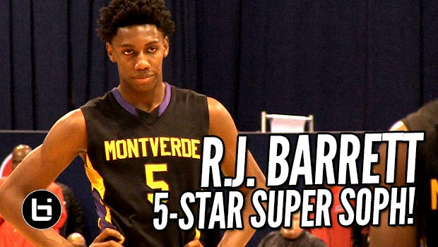 R.J. Barrett, 5-Star Super Soph Takes Over Chicago Elite Classic! Full Highlights
