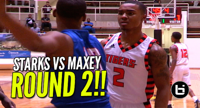 TJ Starks (35Pts) vs Tyrese Maxey (32Pts) ROUND 2!!!