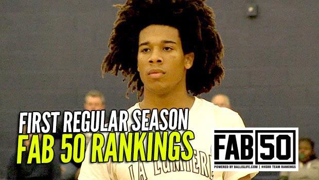 FIRST Regular Season FAB 50 National Rankings: 8 Newcomers!