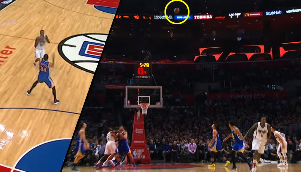 Besides The Look-Away Rainbow, Jamal Crawford Hit Some Really Tough Shots Vs the Warriors