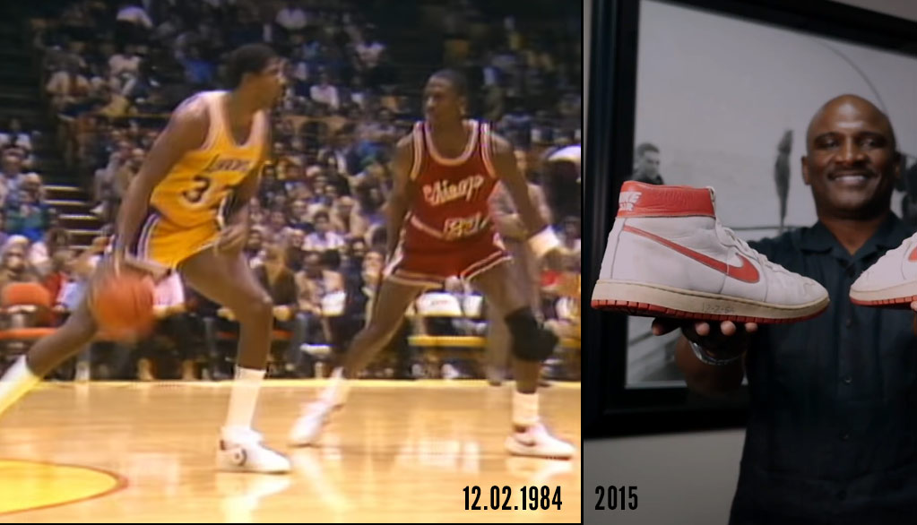 Remembering Rookie Michael Jordan's 1st Game Against Magic Johnson & The Luckiest Ballboy Ever