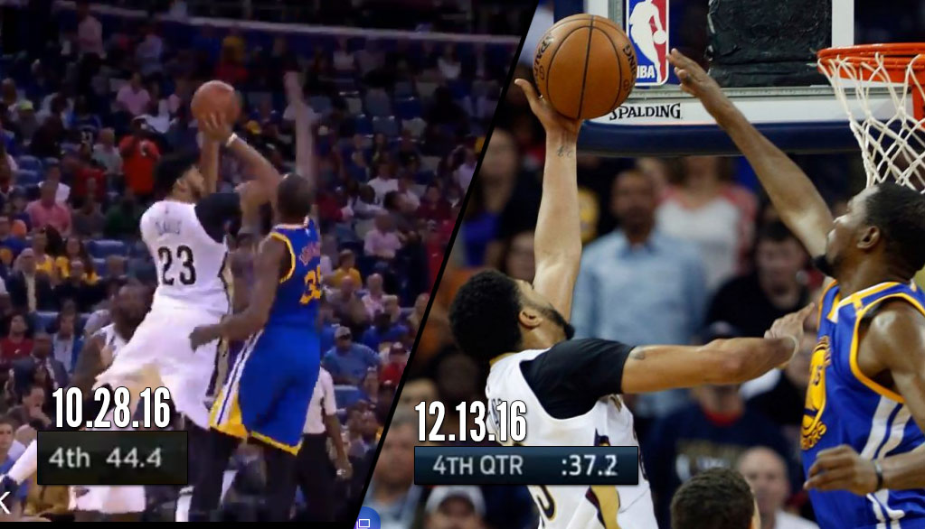 Déjà Vu: Kevin Durant Clutch Block On Anthony Davis…AGAIN!