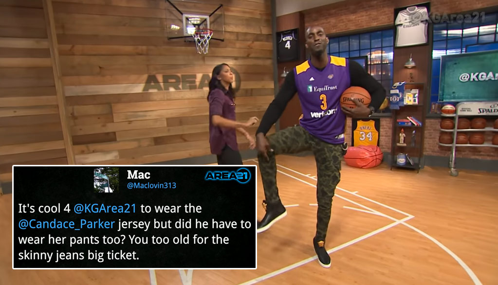 Kevin Garnett Forgot To Use The Cuss Button When Responding To Jokes About His Skinny Jeans