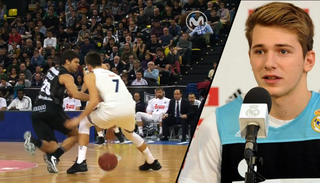 17-Year Old European Hoop Sensation Luka Dončić Drops Defender, Has NBA Scouts Drooling