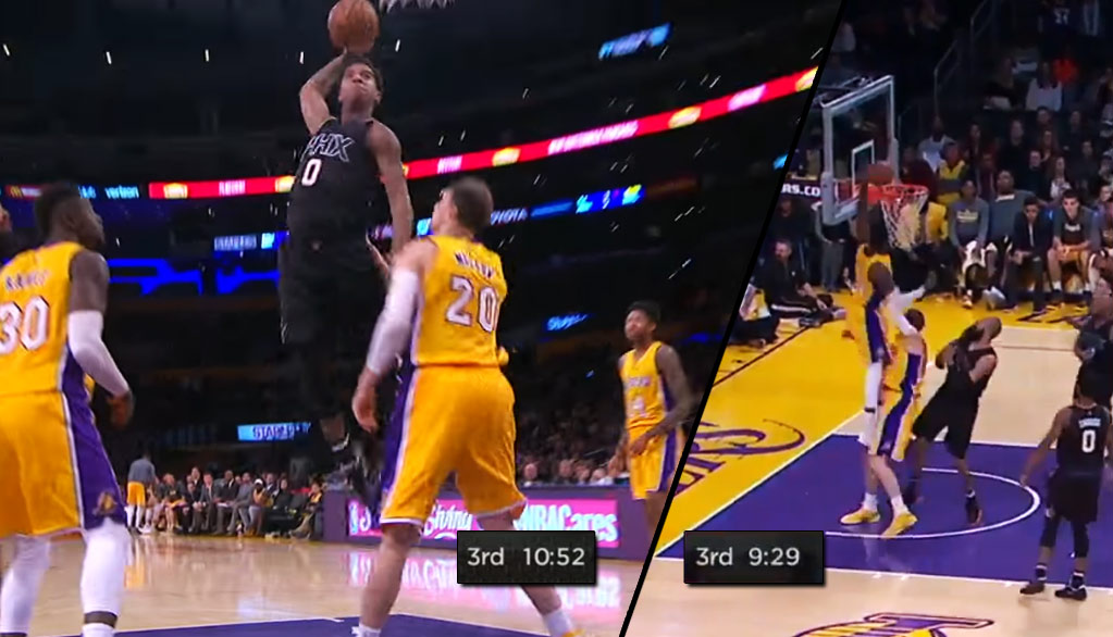 Mozgov Avoids Getting Dunked On By Marquese Chriss Then Gets Dunked On By His Own Teammate