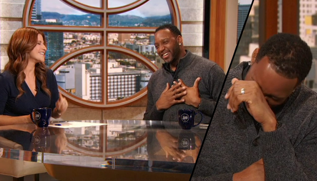 Watch An Emotional Tracy McGrady Find Out He's A Basketball Hall of Fame Candidate