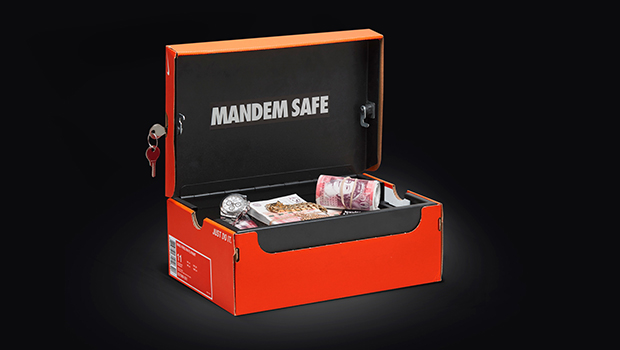 Introducing the Sneakerbox Safe | The Mandem Safe