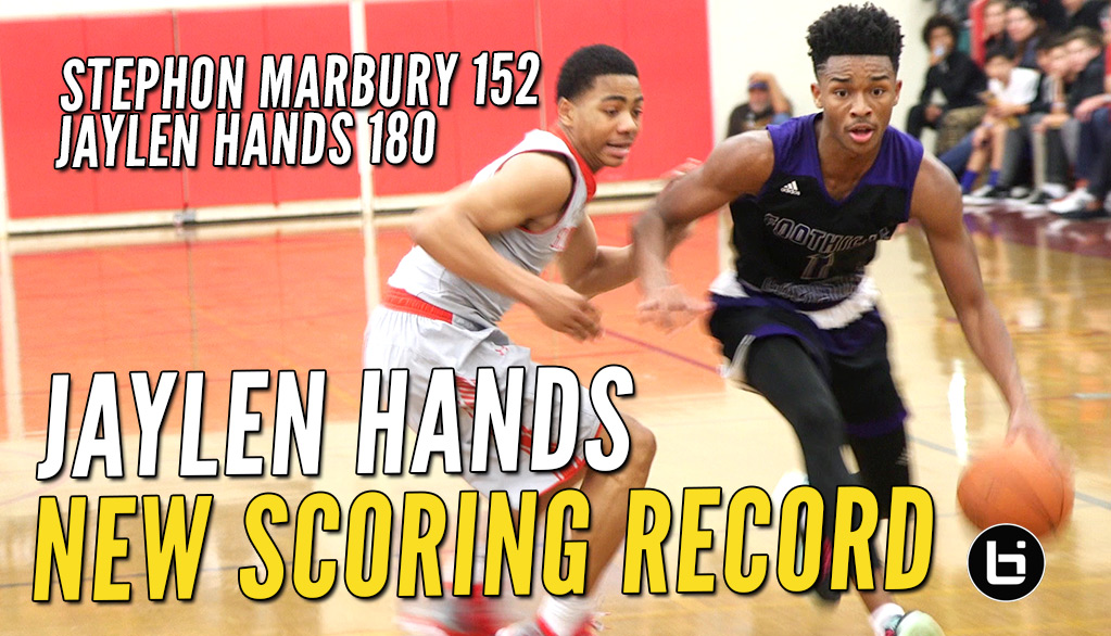 Jaylen Hands SMASHES Stephon Marbury's UA Holiday Classic SCORING MARK! Wins Title!