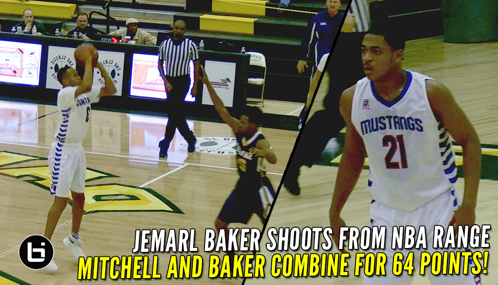 Jemarl Baker and Matt Mitchell Combine For 64 of Their Teams 87 Points