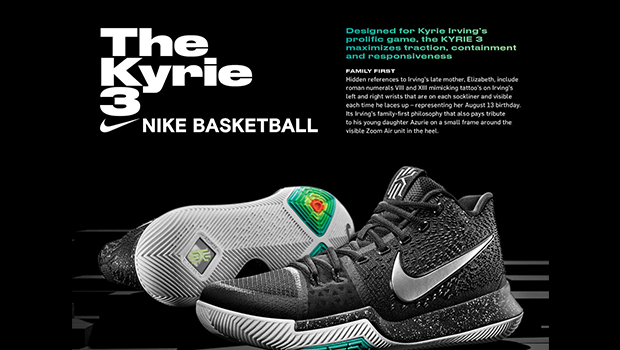 Introducing the Nike Kyrie 3
