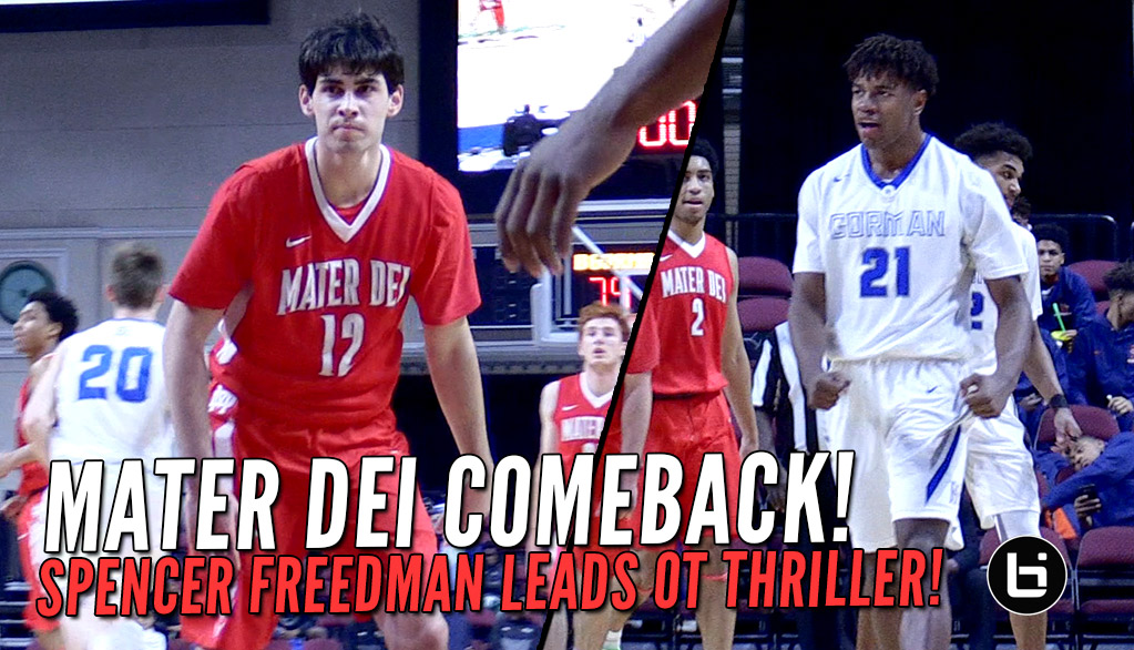 Mater Dei Pushes Past Bishop Gorman In OT Thriller!