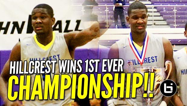No. 1 DeAndre Ayton Leads Hillcrest to First Ever Championship! Full Highlights!