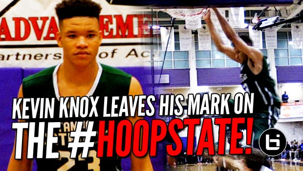 Kevin Knox Gives Triangle Fans an Early Taste?? 3 Game Highlights from #TheJohnWall!!