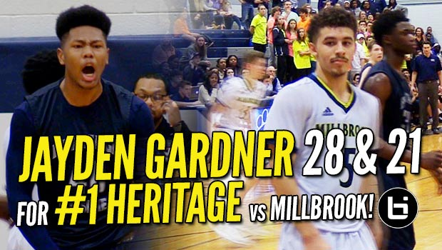 Jayden Gardner Goes BEAST MODE for 28 & 21 in Rivalry Game vs Jordan Whitfield's 29!