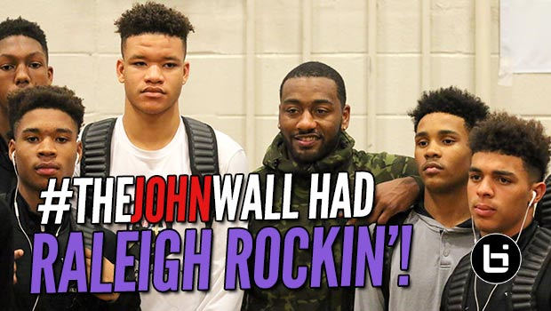 #TheJohnWall Holiday Invitational has the BEST Atmosphere in High School Basketball! Official Recap!