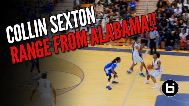 Collin Sexton Uses Unlimited Range to Drop 53 on Senior Night!