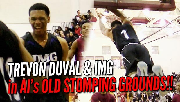 Trevon Duval & IMG Tip Off in Iverson's Old Stomping Grounds