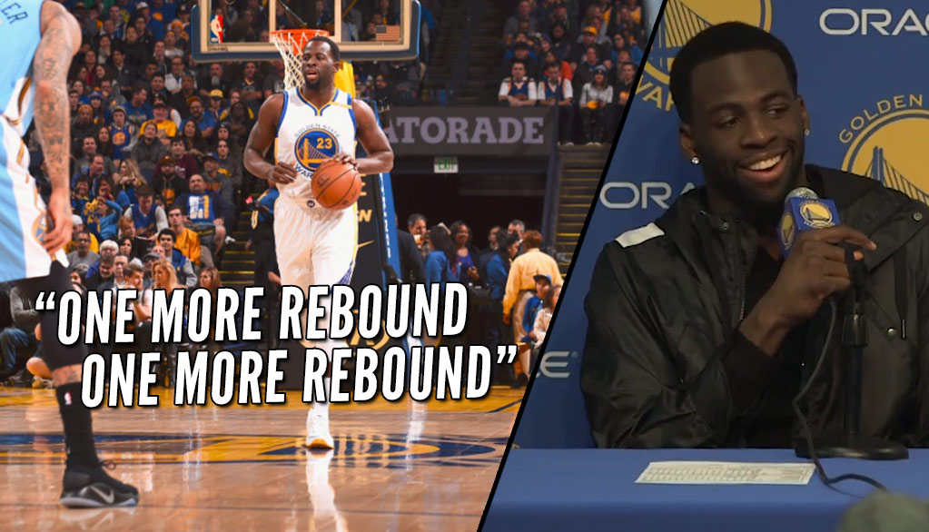 Draymond Green Triple-Double vs Nuggets, Says He Would Have A Lot More If He Cared About Stats
