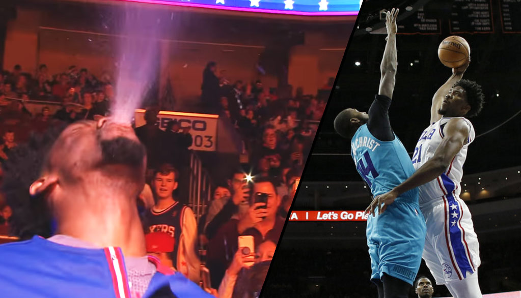 Joel Embiid Gets MVP Chants During Dominating Triple H Inspired Performance Vs Hornets