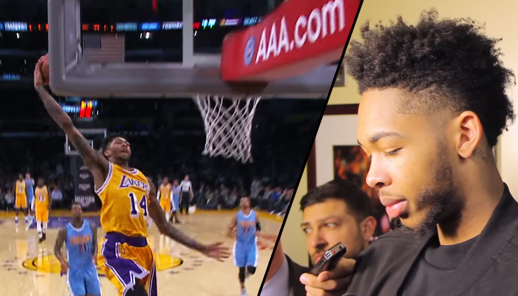 "Brandon Ingram Scores 15 In Start, Says Lakers Losing 5th Straight ""Leaves A Sick Feeling"""