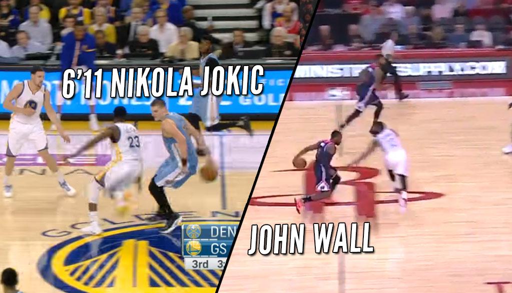 Who Did It Better: John Wall on Harden or Nikola Jokic on Green