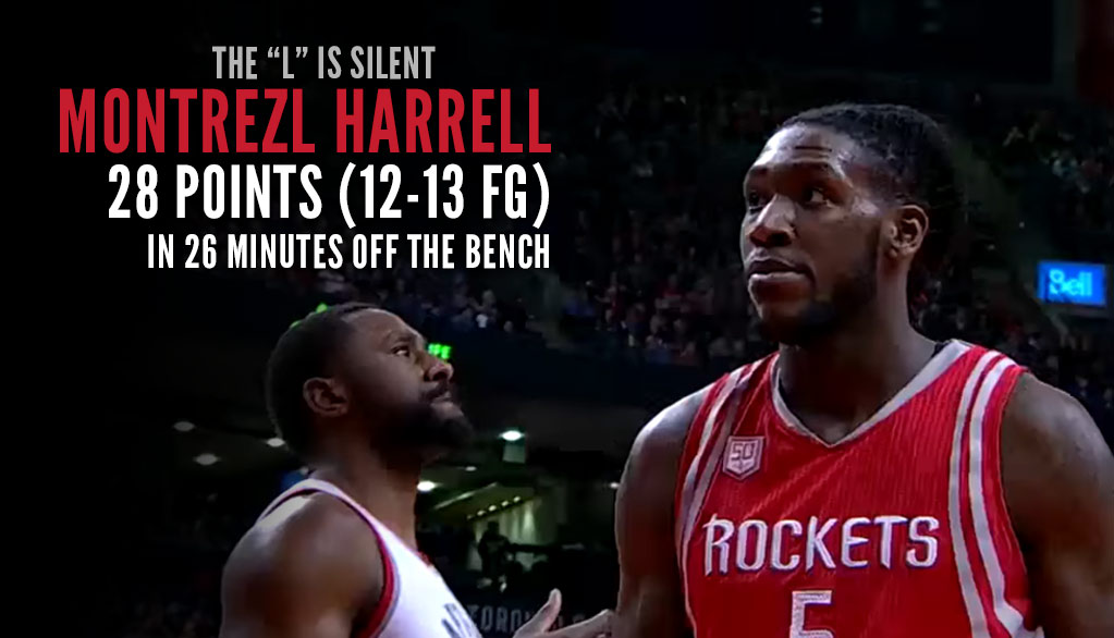 Montrezl Harrell Scores 28 Off The Bench On 12 of 13 Shooting!