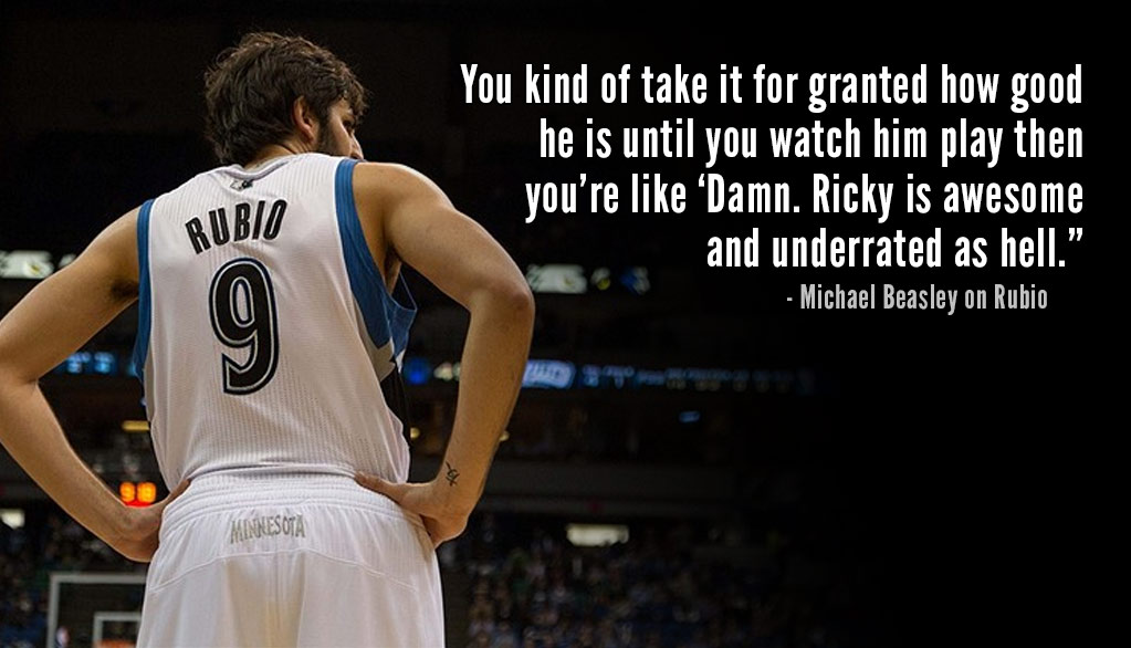 Is Ricky Rubio Underrated?