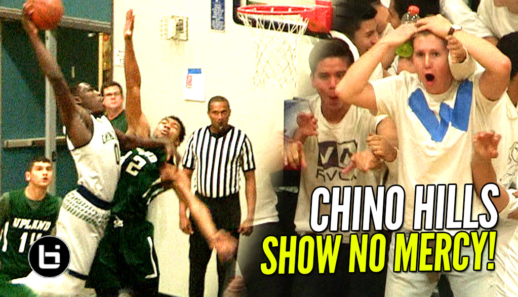 Chino Hills Show Continues In Highlight Filled Blowout Win | Eli Scott Posterizes Defender!