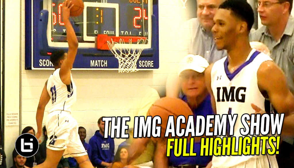 Trevon Duval Makes The Game EASY For Teammates! IMG Academy BLOWOUT Win FULL Highlights!