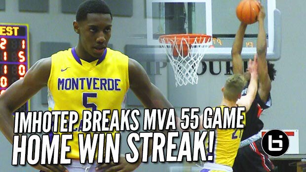 Imhotep BREAKS Montverde Academy 55 Home Game Winning Streak At MAIT Invitational!! Full Highlights!