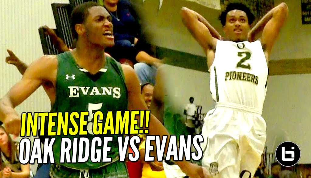 Oak Ridge INTENSE Battle Against Evans! Full Highlights!!